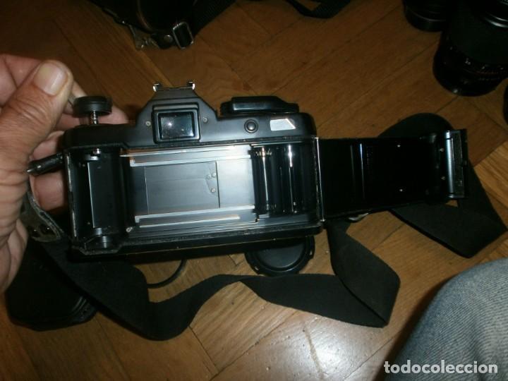 Cámara de fotos: CÁMARA FOTOS YASHICA FX 3 CON 4 OBJETIVOS SIGMA ZOOM 70 MM-DSB 135 MM-DSB 28 MM -ML 50 MM-FILTROS - Foto 8 - 132692578