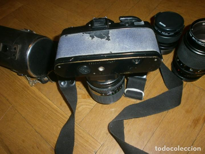 Cámara de fotos: CÁMARA FOTOS YASHICA FX 3 CON 4 OBJETIVOS SIGMA ZOOM 70 MM-DSB 135 MM-DSB 28 MM -ML 50 MM-FILTROS - Foto 9 - 132692578