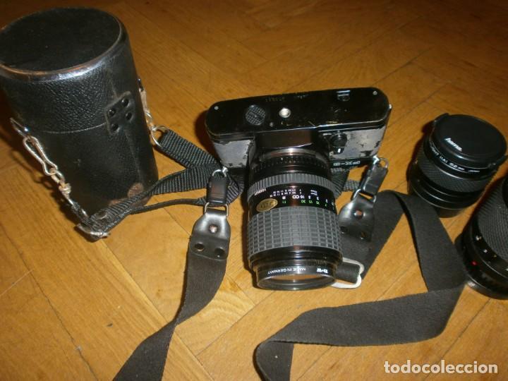 Cámara de fotos: CÁMARA FOTOS YASHICA FX 3 CON 4 OBJETIVOS SIGMA ZOOM 70 MM-DSB 135 MM-DSB 28 MM -ML 50 MM-FILTROS - Foto 11 - 132692578