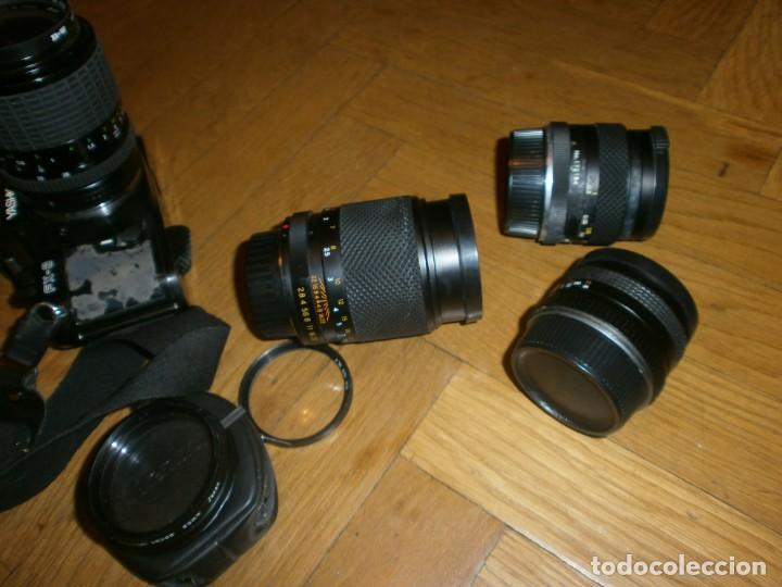 Cámara de fotos: CÁMARA FOTOS YASHICA FX 3 CON 4 OBJETIVOS SIGMA ZOOM 70 MM-DSB 135 MM-DSB 28 MM -ML 50 MM-FILTROS - Foto 12 - 132692578