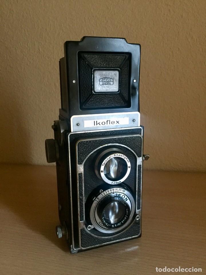 IKOFLEX II 851/16 CON LENTE ZEISS TESSAR 75MM F3.5 (Cámaras Fotográficas - Réflex (no autofoco))