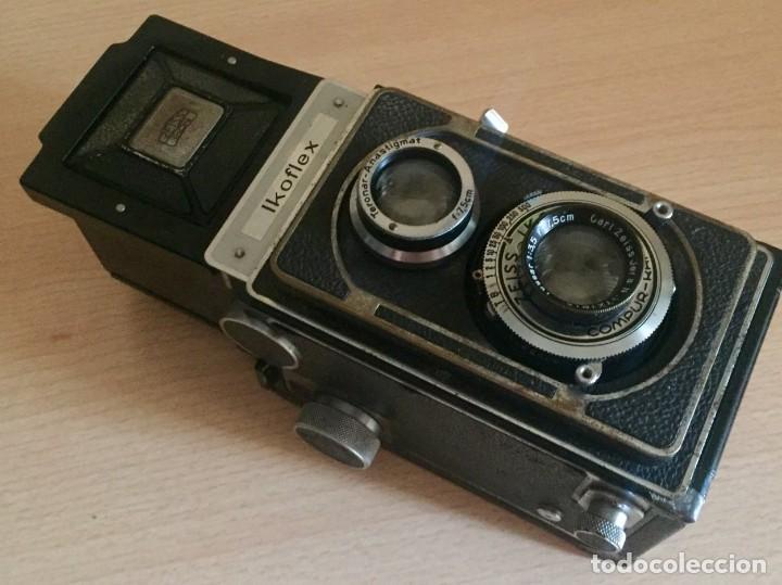 Cámara de fotos: Ikoflex II 851/16 Con Lente Zeiss Tessar 75mm f3.5 - Foto 2 - 133480826