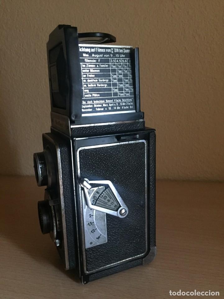 Cámara de fotos: Ikoflex II 851/16 Con Lente Zeiss Tessar 75mm f3.5 - Foto 5 - 133480826