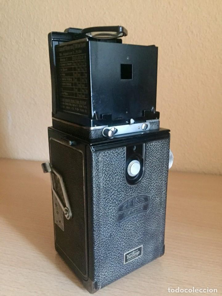 Cámara de fotos: Ikoflex II 851/16 Con Lente Zeiss Tessar 75mm f3.5 - Foto 6 - 133480826