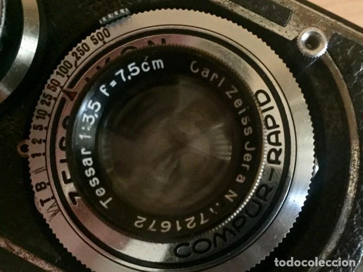 Cámara de fotos: Ikoflex II 851/16 Con Lente Zeiss Tessar 75mm f3.5 - Foto 8 - 133480826