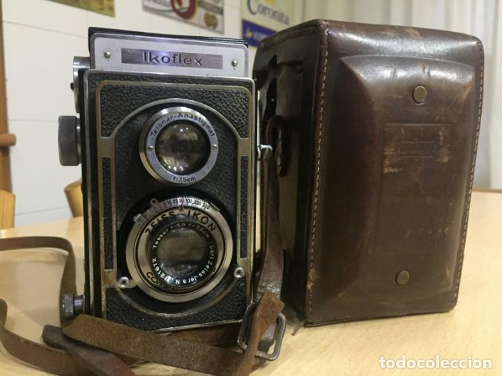 Cámara de fotos: Ikoflex II 851/16 Con Lente Zeiss Tessar 75mm f3.5 - Foto 11 - 133480826