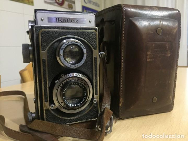 Cámara de fotos: Ikoflex II 851/16 Con Lente Zeiss Tessar 75mm f3.5 - Foto 12 - 133480826