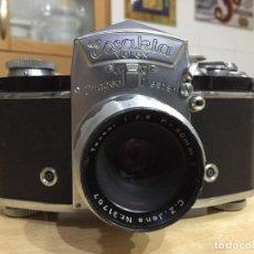 Cámara de fotos: EXAKTA VAREX VX OBJETIVO TESSAR 50MM 2.8. Lote 135442530