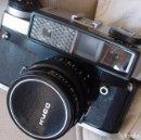 Cámara de fotos: CAMARA TELEMETRICA RUSA KIEV 5 PROBADA CON CARRETE. Lote 135480210