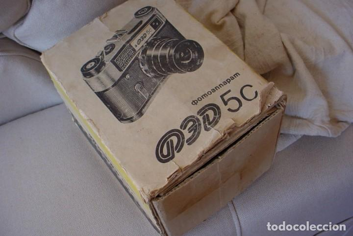 Cámara de fotos: Camara rusa Fed 5C en estuche original - Foto 2 - 135480830