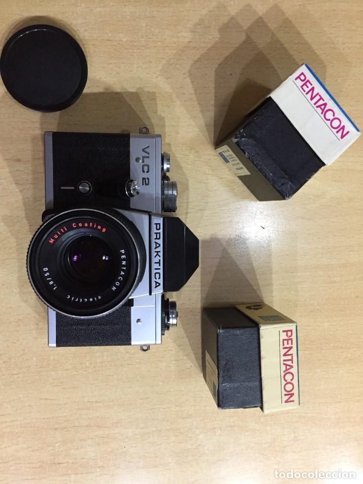 Cámara de fotos: Praktica VLC 2 mas lupa y visor de cintura Pentacon - Foto 3 - 137335182