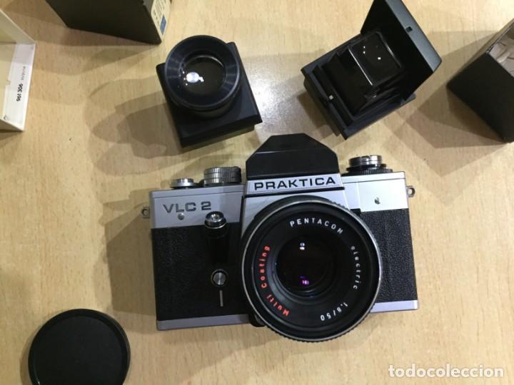 Cámara de fotos: Praktica VLC 2 mas lupa y visor de cintura Pentacon - Foto 4 - 137335182