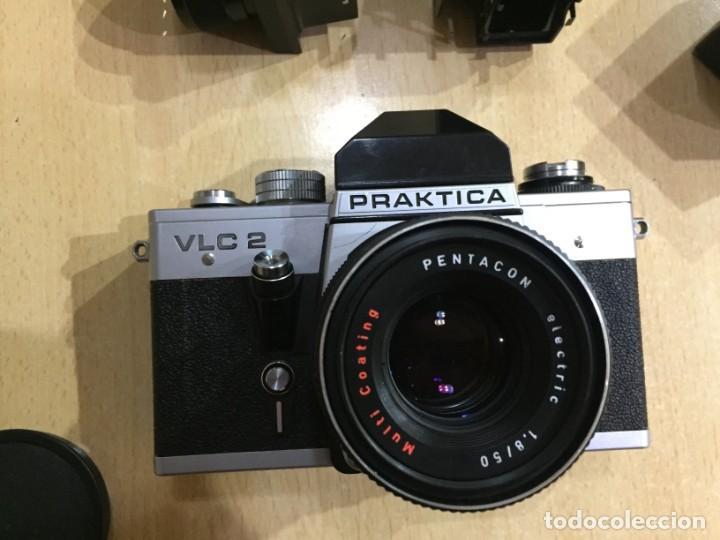 Cámara de fotos: Praktica VLC 2 mas lupa y visor de cintura Pentacon - Foto 6 - 137335182