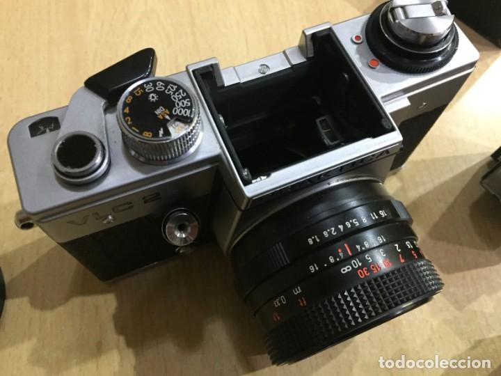 Cámara de fotos: Praktica VLC 2 mas lupa y visor de cintura Pentacon - Foto 11 - 137335182