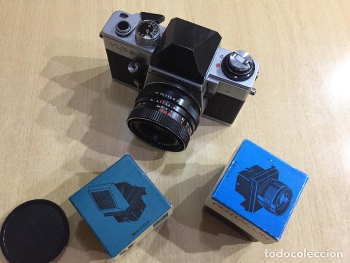 Cámara de fotos: Praktica VLC 2 mas lupa y visor de cintura Pentacon - Foto 15 - 137335182