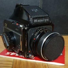 Cámara de fotos: MAGNÍFICA CÁMARA FOTOGRÁFICA SLR REFLEX PROFESIONAL MAMIYA M 645.COMPLETA + INSTRUCCIONES. Lote 139882346