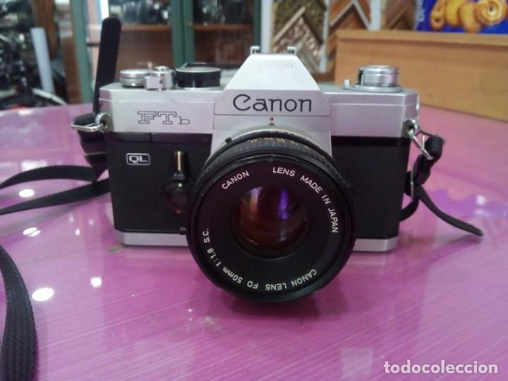 CANON FTB (Cámaras Fotográficas - Réflex (no autofoco))