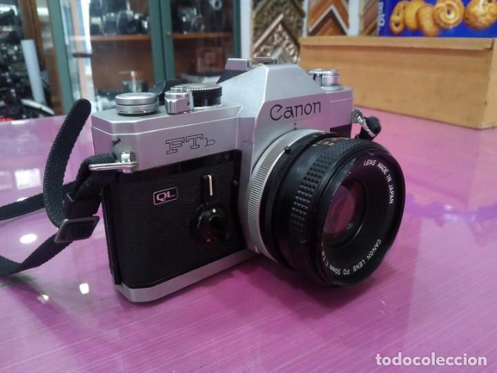 Cámara de fotos: Canon FTb - Foto 3 - 139940322