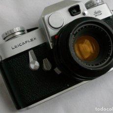 Cámara de fotos: CAMARA LEICAFLEX CON OBJETIVO 20/80. Lote 139964526