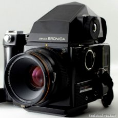 Cámara de fotos: ZENZA BRONICA 6XC6. MOD. SQA.PERFECTA!. Lote 141642078
