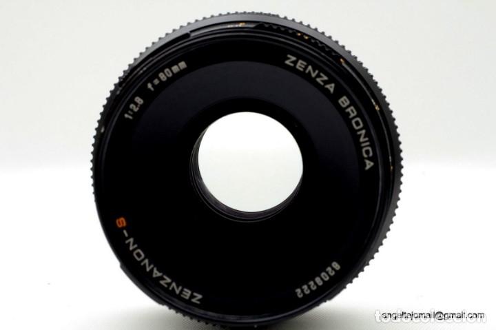 Cámara de fotos: ZENZA BRONICA 6XC6. MOD. SQA.Perfecta! - Foto 3 - 141642078