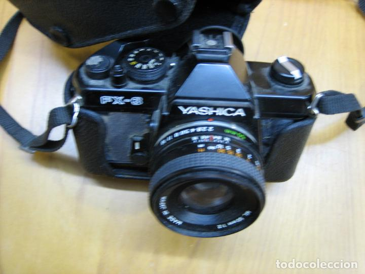 Cámara de fotos: Antigua cámara fotográfica Yashica FX-3 - Foto 4 - 141905626