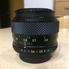 Cámara de fotos: FUJINON 50MM 1.4 MONTURA ROSCA M 42. Lote 142380102