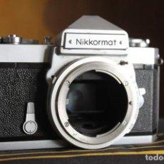 Cámara de fotos: CUERPO NIKKORMAT FTN. Lote 142423094