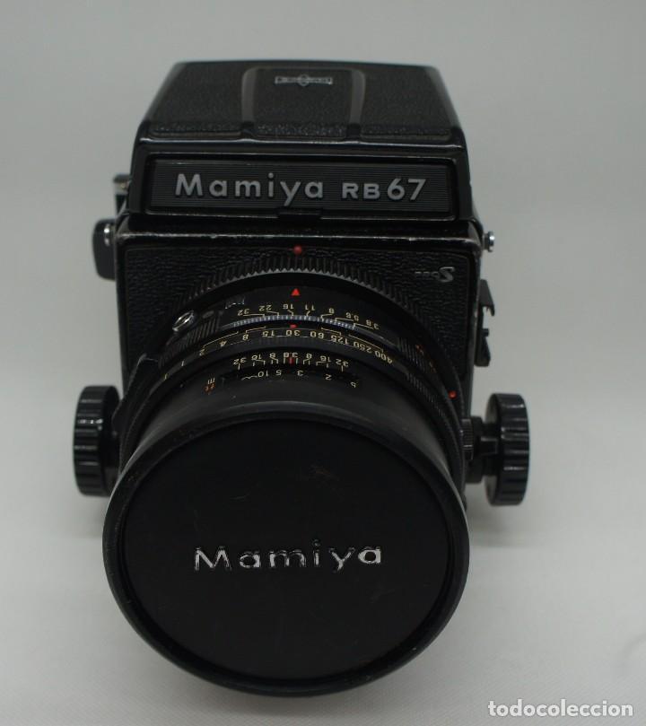 CÁMARA FOTOGRÁFICA MAMIYA RB67 CON 2 OBJETIVOS Y VARIOS ACCESORIOS . (Cámaras Fotográficas - Réflex (no autofoco))