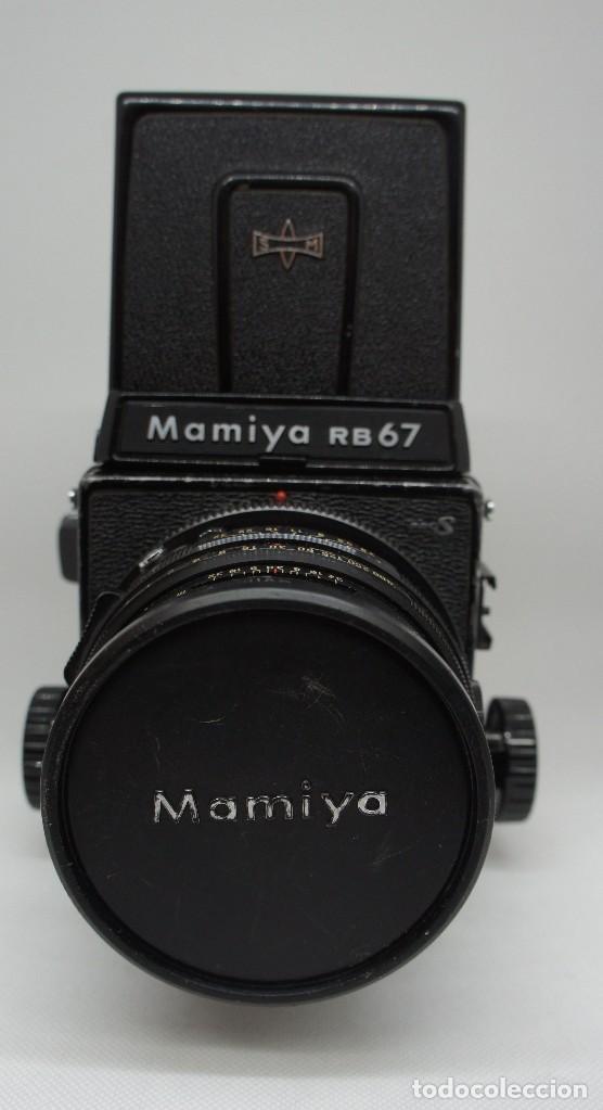 Cámara de fotos: CÁMARA FOTOGRÁFICA MAMIYA RB67 CON 2 OBJETIVOS Y VARIOS ACCESORIOS . - Foto 2 - 142676730