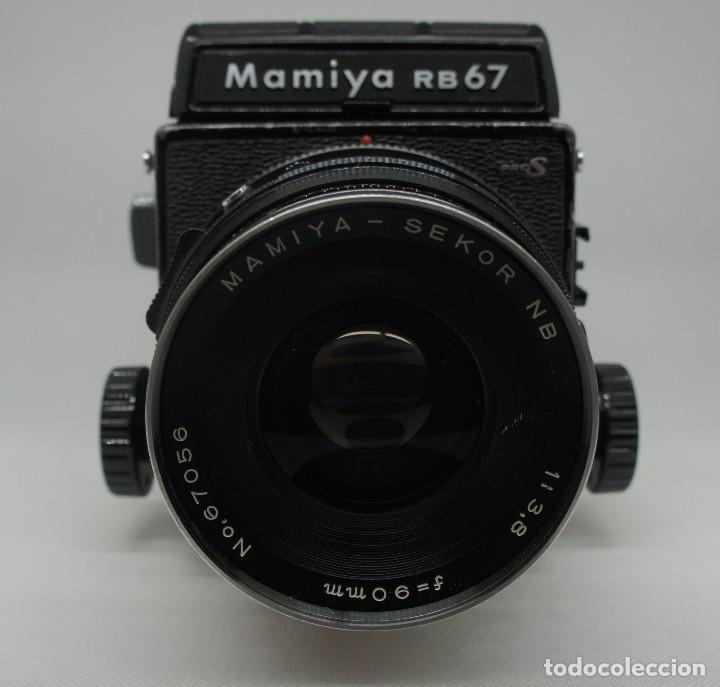 Cámara de fotos: CÁMARA FOTOGRÁFICA MAMIYA RB67 CON 2 OBJETIVOS Y VARIOS ACCESORIOS . - Foto 7 - 142676730
