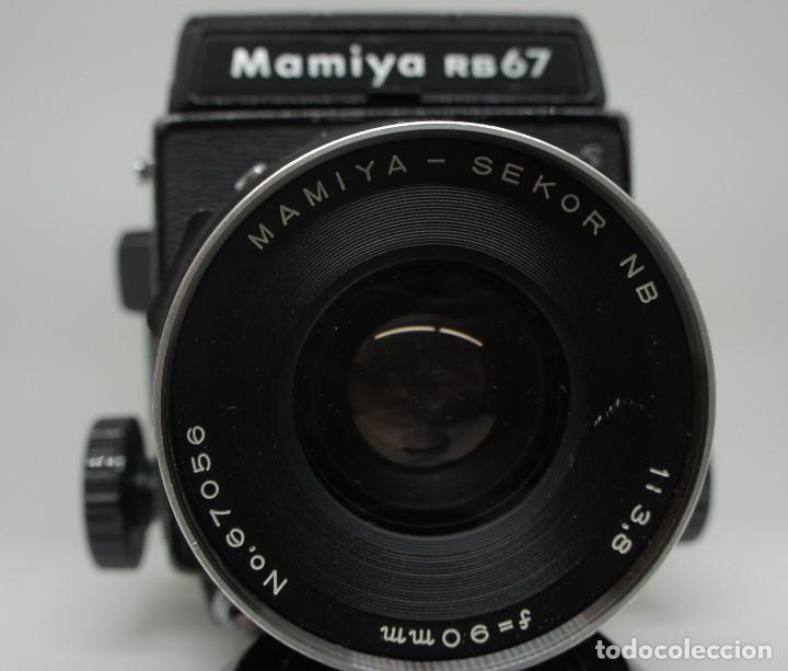 Cámara de fotos: CÁMARA FOTOGRÁFICA MAMIYA RB67 CON 2 OBJETIVOS Y VARIOS ACCESORIOS . - Foto 8 - 142676730