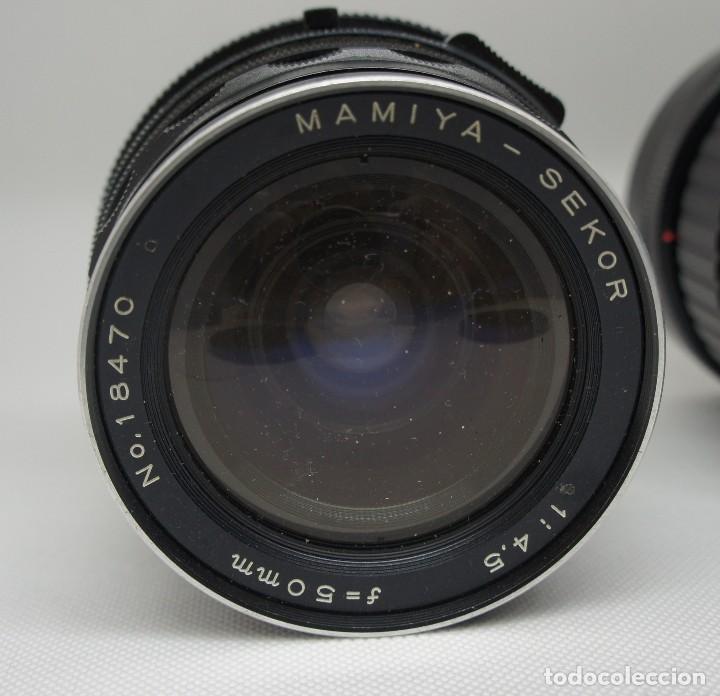 Cámara de fotos: CÁMARA FOTOGRÁFICA MAMIYA RB67 CON 2 OBJETIVOS Y VARIOS ACCESORIOS . - Foto 19 - 142676730