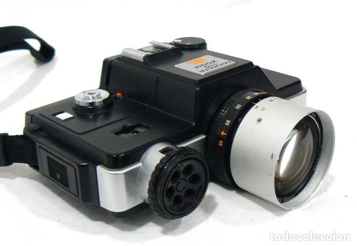 Cámara de fotos: Antigua cámara fotográfica Minolta 110 Zoom SLR. La primera cámara SLR Reflex de 110 - Foto 2 - 142814442