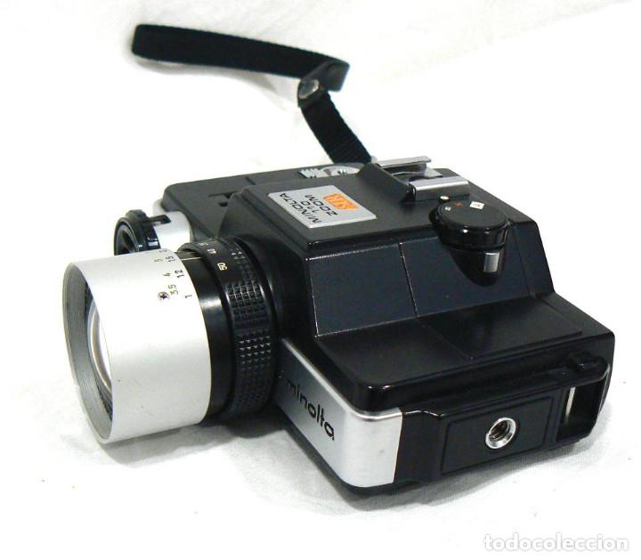 Cámara de fotos: Antigua cámara fotográfica Minolta 110 Zoom SLR. La primera cámara SLR Reflex de 110 - Foto 3 - 142814442