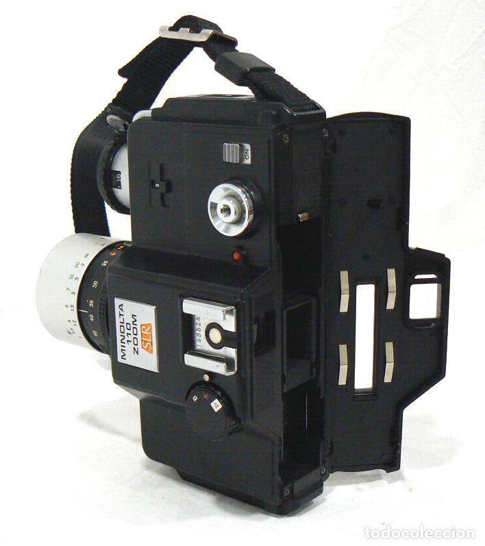 Cámara de fotos: Antigua cámara fotográfica Minolta 110 Zoom SLR. La primera cámara SLR Reflex de 110 - Foto 5 - 142814442