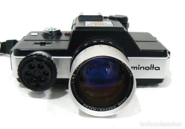 Cámara de fotos: Antigua cámara fotográfica Minolta 110 Zoom SLR. La primera cámara SLR Reflex de 110 - Foto 6 - 142814442