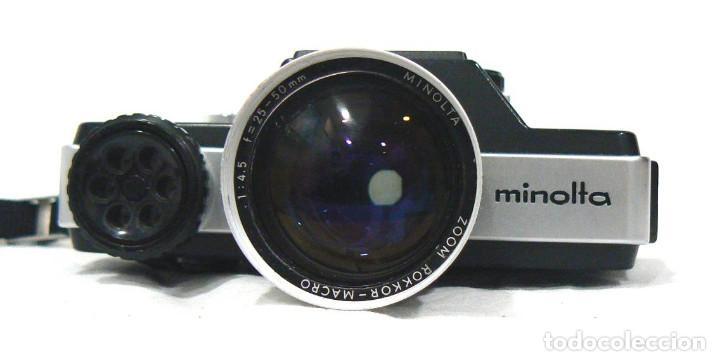 Cámara de fotos: Antigua cámara fotográfica Minolta 110 Zoom SLR. La primera cámara SLR Reflex de 110 - Foto 7 - 142814442