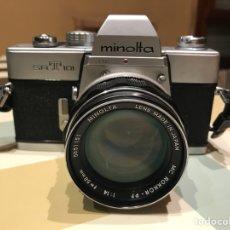 Cámara de fotos: MINOLTA SRT101 50MM F1,4. Lote 143008330