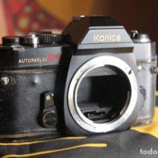 Cámara de fotos: CUERPO KONICA AUTOREFLEX T4. Lote 143072594