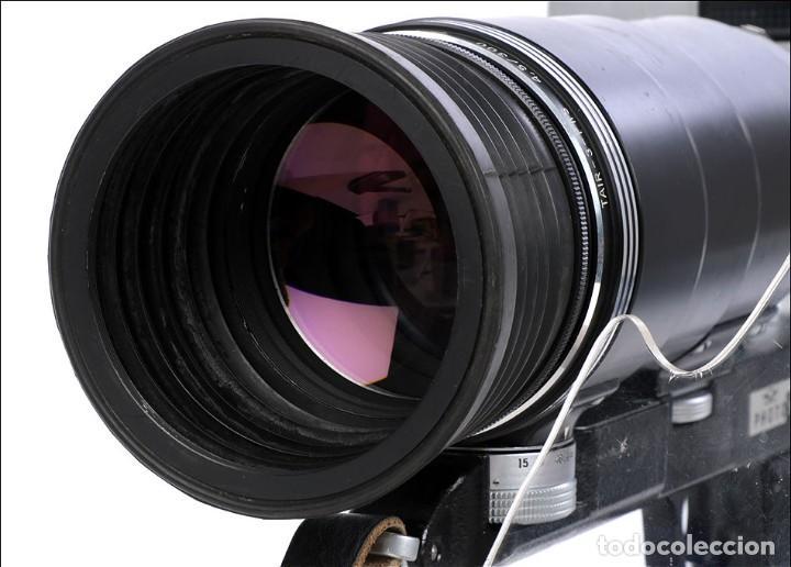 Cámara de fotos: Antigua Cámara Fotográfica - Fusil Zenit Photosniper para Telefoto. URSS, 1980 - Foto 25 - 144370358