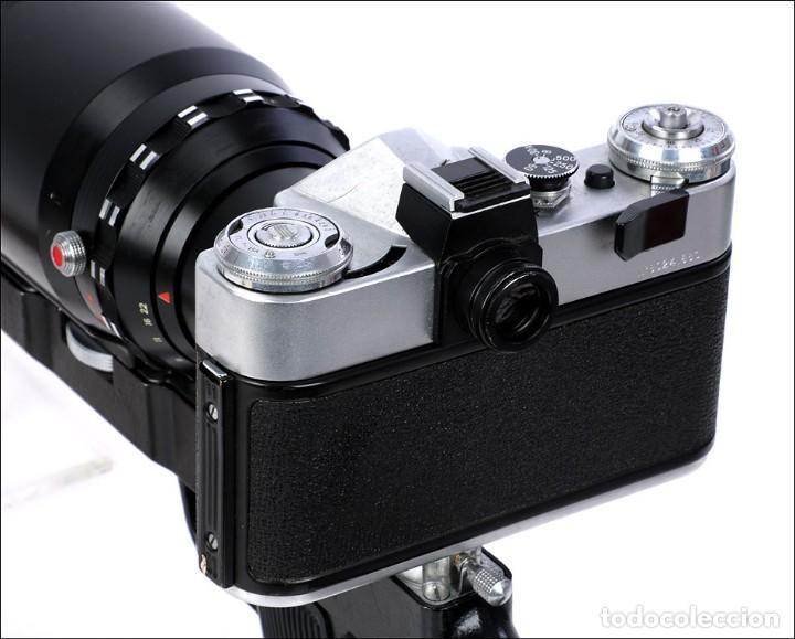 Cámara de fotos: Antigua Cámara Fotográfica - Fusil Zenit Photosniper para Telefoto. URSS, 1980 - Foto 33 - 144370358