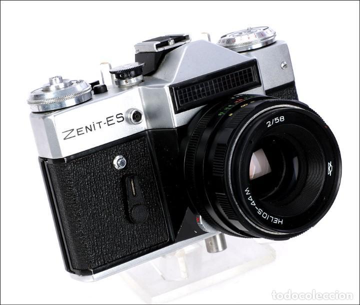 Cámara de fotos: Antigua Cámara Fotográfica - Fusil Zenit Photosniper para Telefoto. URSS, 1980 - Foto 44 - 144370358