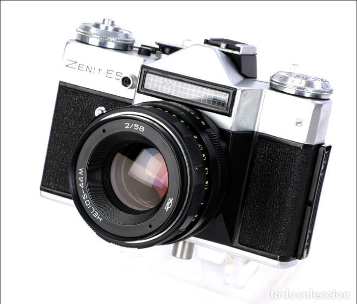 Cámara de fotos: Antigua Cámara Fotográfica - Fusil Zenit Photosniper para Telefoto. URSS, 1980 - Foto 45 - 144370358