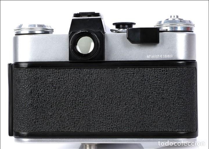 Cámara de fotos: Antigua Cámara Fotográfica - Fusil Zenit Photosniper para Telefoto. URSS, 1980 - Foto 47 - 144370358
