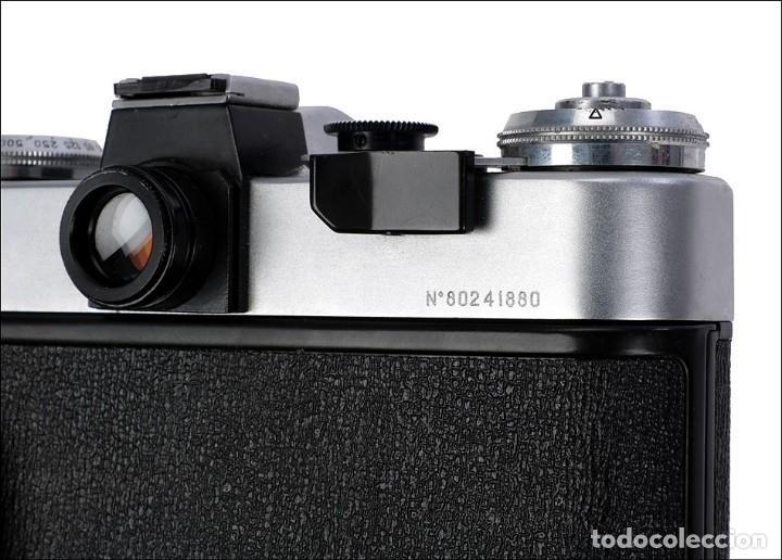 Cámara de fotos: Antigua Cámara Fotográfica - Fusil Zenit Photosniper para Telefoto. URSS, 1980 - Foto 48 - 144370358