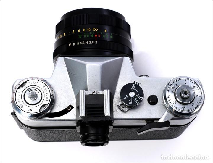 Cámara de fotos: Antigua Cámara Fotográfica - Fusil Zenit Photosniper para Telefoto. URSS, 1980 - Foto 49 - 144370358