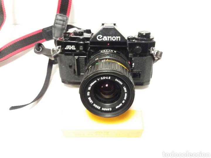 CAMARA CANON ANALOGICA A-1 CON OBJETIVO CANON 35-70 (Cámaras Fotográficas - Réflex (no autofoco))