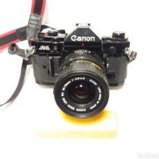 Cámara de fotos: CAMARA CANON ANALOGICA A-1 CON OBJETIVO CANON 35-70. Lote 145277665