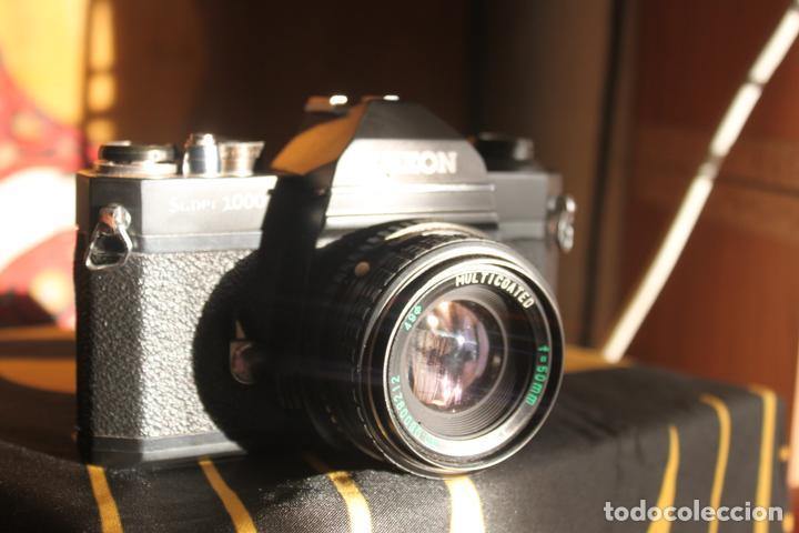 LUXON SUPER 1000 + OBJETIVO 50MM F:2 (Cámaras Fotográficas - Réflex (no autofoco))